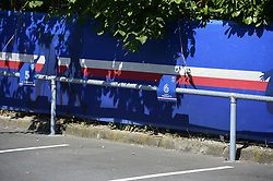 July 4, 2017 - St Germain En Laye, France, France - place de parking vide de VERRATTI Marco  (Credit Image: © Panoramic via ZUMA Press)