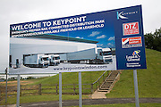 Keypoint, Swindon, England. Rail connected distribution park warehouses.