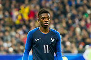 Ousmane Dembele (fra) during the International Friendly Game football match between France and Colombia on march 23, 2018 at Stade de France in Saint-Denis, France - Photo Pierre Charlier / ProSportsImages / DPPI