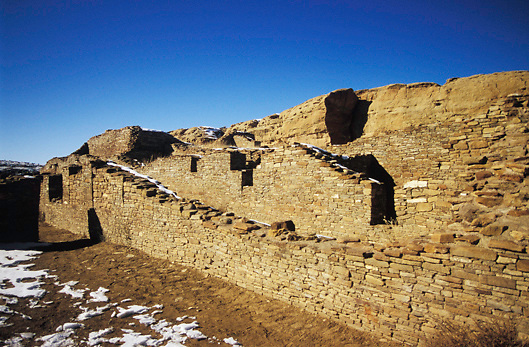Chaco Culture National Historical Park;  Chaco Canyon, New Mexico