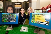 24/11/2019 repro free:<br /> Fidelity at the Galway Science and Technology Festival  at NUI Galway where over 20,000 people attended exhibition stands  from schools to Multinational Companies . Photo:Andrew Downes, xposure