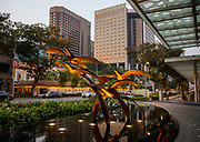 Singapore, Raffles city tower Civic District within the Downtown Core