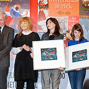 NLD/Amsterdam/20121113 - Presentatie DE Sinterklaasboekjes 2012,  Jan Terlouw, Ann de Bode, Carice van Houten, Govert Verbeek