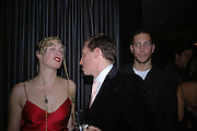 Flora Astor. The Tatler Little Black book party in association with Chopard. Aviva loungs, BAGLIONE HOTEL. HYDE PARK GATE. LONDON SW7. 9 November 2005. ONE TIME USE ONLY - DO NOT ARCHIVE © Copyright Photograph by Dafydd Jones 66 Stockwell Park Rd. London SW9 0DA Tel 020 7733 0108 www.dafjones.com