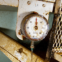 Pressure Gauge, USS Kittiwake, Grand Cayman
