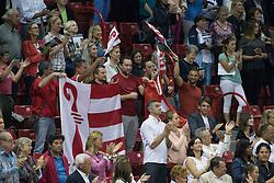 Suisse supporters for Steve Guerdat<br /> Longines FEI World Cup™ Jumping Final II<br /> Las Vegas 2015<br />  © Hippo Foto - Dirk Caremans<br /> 18/04/15
