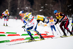January 6, 2018 - Val Di Fiemme, ITALY - 180106 Daniel Rickardsson of Sweden competes in men's 15km mass start classic technique during Tour de Ski on January 6, 2018 in Val di Fiemme..Photo: Jon Olav Nesvold / BILDBYRN / kod JE / 160123 (Credit Image: © Jon Olav Nesvold/Bildbyran via ZUMA Wire)