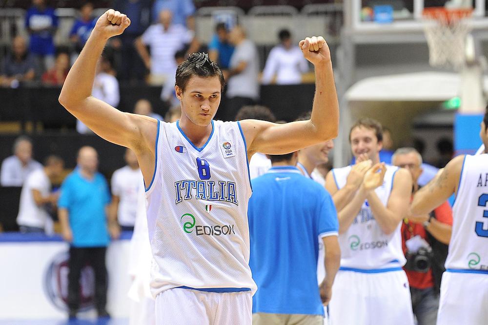 Trieste, 02/09/2012<br /> Basket, Eurobasket 2013 Qualifying Round<br /> Italia - Repubblica Ceca<br /> Nella foto: Danilo Gallinari<br /> Foto Ciamillo