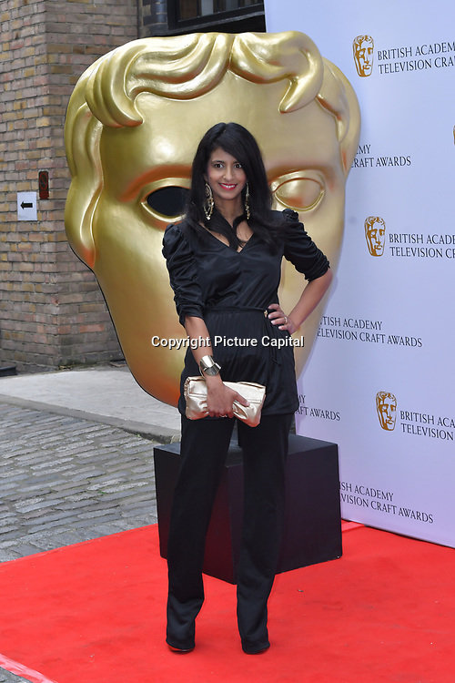 Konnie Huq Arrivers at the British Academy Television Craft Awards on 28 April 2019, London, UK.