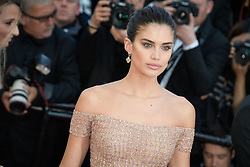 Sara Sampaio attending the premiere of the film Les Filles du Soleil during the 71st Cannes Film Festival in Cannes, France on May 12, 2018. Photo by Julien Zannoni/APS-Medias/ABACAPRESS.COM