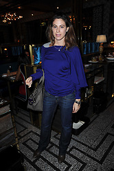 FRANCESCA VERSACE at a party to celebrate the 1st anniversary of Gift-Library.com held at Bob Bob Ricard, 1 Upper James Street, London on 19th November 2009.