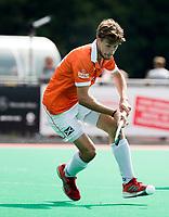 ROTTERDAM - Bloemendaal speler Florian Fuchs (Bloemendaal)  tegen HDM , bij de ABN AMRO cup 2017 . COPYRIGHT KOEN SUYK