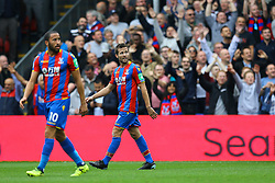 Goal, Ngolo Kante of Chelsea puts Chelsea 1-0 up over Chelsea - Mandatory by-line: Jason Brown/JMP - 14/10/2017 - FOOTBALL - Selhurst Park - London, England - Crystal Palace v Chelsea - Premier League