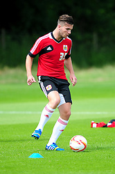 Bristol City's new signing, Mitch Brundle - Photo mandatory by-line: Dougie Allward/JMP - Tel: Mobile: 07966 386802 27/06/2013 - SPORT - FOOTBALL - Bristol -  Bristol City - Pre Season Training - Npower League One