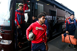 Jay Dasilva of Bristol City arrives at the Hawthorns for the Sky Bet Championship fixture against West Bromwich Albion - Mandatory by-line: Robbie Stephenson/JMP - 18/09/2018 - FOOTBALL - The Hawthorns - West Bromwich, England - West Bromwich Albion v Bristol City - Sky Bet Championship