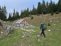 Switzerland is a landlocked country whose territory is geographically divided between the Alps, the Central Plateau and the Jura that yields a total area of 41,285 km2 (15,940 sq mi). The Swiss population of approximately 7.7 million ..Trekking