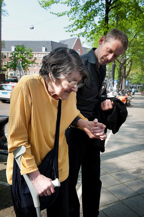 Nederland, Amsterdam, 21 april 2011.Document Amsterdam.Oud.  .Foto (c)  Michiel Wijnbergh