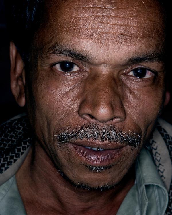 Portrait of an Indian male farmer