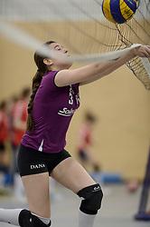 03-01-2015 NED: Nationale Open Clubkampioenschappen Volleybal 2015, Harderwijk<br /> Niet minder dan 491 jeugdteams, verdeeld over 27 sporthallen, begonnen aan de Nationale Open Clubkampioenschappen (NOJK) van 2015 / De jongens C en meisjes B/C in actie in de Sypel te Harderwijk / SSS - Vocasa