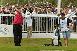 March 23, 2018 - Austin, TX, U.S. - AUSTIN, TX - MARCH 23:  Phil Mickelson tees off the seventh hole during the WGC-Dell Technologies Match Play Tournament on March 22, 2018, at the Austin Country Club in Austin, TX.  (Photo by David Buono/Icon Sportswire) (Credit Image: © David Buono/Icon SMI via ZUMA Press)