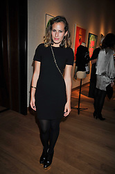 CHARLOTTE DELLAL at fundraising dinner and auction in aid of Liver Good Life a charity for people with Hepatitis held at Christies, King Street, London on 16th September 2009.