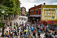 Eureka Springs, Arkansas during the 2019 Fat Tire bicycle race.