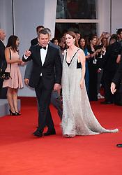 September 2, 2017 - Venice, Italy - Julianne Moore and Matt Damon walks the red carpet ahead of the 'Suburbicon' screening during the 74th Venice Film Festival  in Venice, Italy, on September 2, 2017. (Credit Image: © Matteo Chinellato/NurPhoto via ZUMA Press)