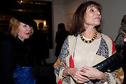 AVRIL GIACOBI; BONNIE MORRIS, There is a Land Called Loss | Annie Morris | Pertwee Andersen and Gold, in association with Adam Waymouth Art , Private View, 15 bateman st. W1 2nd February 2012