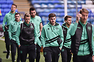 Queens Park Rangers players arrive at Fratton park during the The FA Cup fourth round match between Portsmouth and Queens Park Rangers at Fratton Park, Portsmouth, England on 26 January 2019.