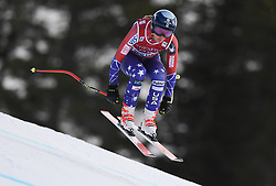 30.11.2017, Lake Louise, CAN, FIS Weltcup Ski Alpin, Lake Louise, Abfahrt, Damen, 3. Training, im Bild Alice Merryweather (USA) // Alice Merryweather of the USA in action during the 3rd practice run of ladie's Downhill of FIS Ski Alpine World Cup at the Lake Louise, Canada on 2017/11/30. EXPA Pictures © 2017, PhotoCredit: EXPA/ SM<br /> <br /> *****ATTENTION - OUT of GER*****