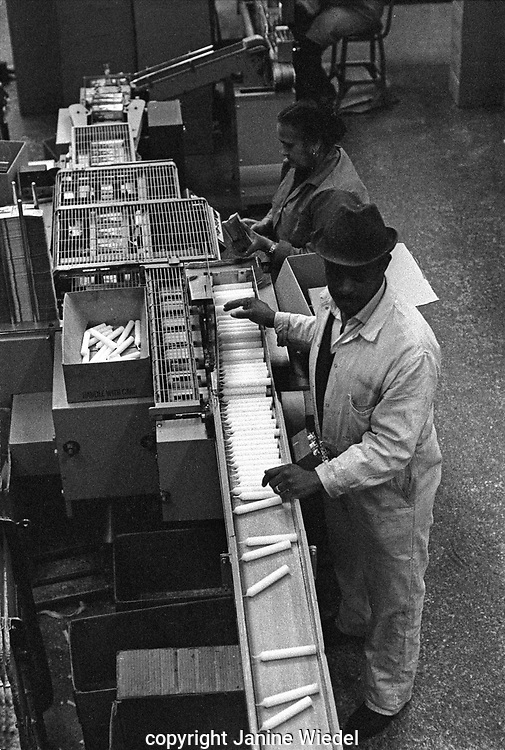 Prices Candle Factory in London was founded in 1830 and grew to be the world leading candle manufacturer. These photos were taken on the original premises in Wandsworth in 1976. factory