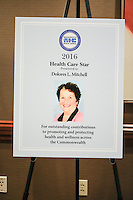 2016 Massachusetts Health Council Gala - October 18, 2016 - Boston Sheraton Hotel