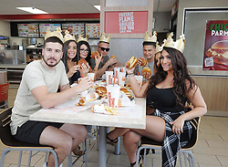 """Pauly D releases a photo on Instagram with the following caption: """"Oh Yea Chicken Parm Yeaaaa !! @BurgerKing #ad"""". Photo Credit: Instagram *** No USA Distribution *** For Editorial Use Only *** Not to be Published in Books or Photo Books ***  Please note: Fees charged by the agency are for the agency's services only, and do not, nor are they intended to, convey to the user any ownership of Copyright or License in the material. The agency does not claim any ownership including but not limited to Copyright or License in the attached material. By publishing this material you expressly agree to indemnify and to hold the agency and its directors, shareholders and employees harmless from any loss, claims, damages, demands, expenses (including legal fees), or any causes of action or allegation against the agency arising out of or connected in any way with publication of the material."""