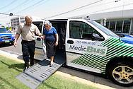2007/09/25-San Juan, Puerto Rico- La compañia Medibus presento hoy su servicio de transportación a pacientes a citas medicas.  El servicio se prestara inicalmente en el area metropolitana, para luego expandirlo al resto de la Isla.