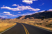 Image of the Beartooth Scenic Byway in the fall in Montana, Pacific Northwest by Randy Wells
