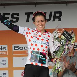 03-09-2017: Wielrennen: Boels Ladies Tour: Sittard: Alexis Ryan wint het bergklassement