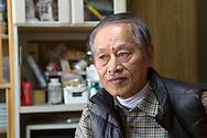Jordbrukaren Hisataka Suto i Fukushima prefekturen, Japan<br /> Fotograf: Christina Sjögren<br /> Copyright 2018, All Rights Reserved