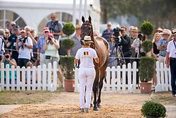 Donckers Karin, BEL, Fletcha van't Verahof<br /> European Championship Eventing<br /> Luhmuhlen 2019<br /> © Hippo Foto - Stefan Lafrentz