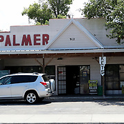 Palmer Feed Store remains open for customers as an essential retailer on Monday, March 30, 2020 in Orlando, Florida. The feed store sells livestock, pet food and live plants and has been very busy since the Coronavirus (Covid-19) threat as emerged. (Alex Menendez via AP)