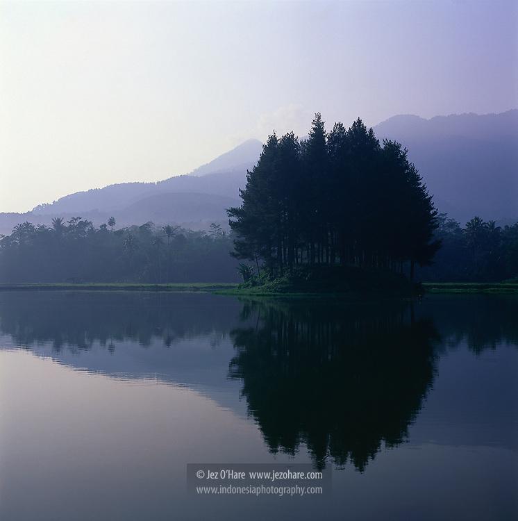 Wanayasa lake, West Java, Indonesia.