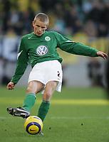 Fotball<br /> Bundesliga Tyskland 2004/2005<br /> Foto: Witters/Digitalsport<br /> NORWAY ONLY<br /> <br /> Thomas RYTTER<br /> Fussballspieler VfL Wolfsburg