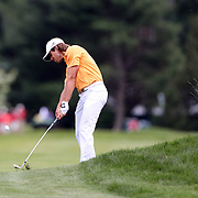 Aaron Baddeley, Australia, in action during the final round of the Travelers Championship at the TPC River Highlands, Cromwell, Connecticut, USA. 22nd June 2014. Photo Tim Clayton