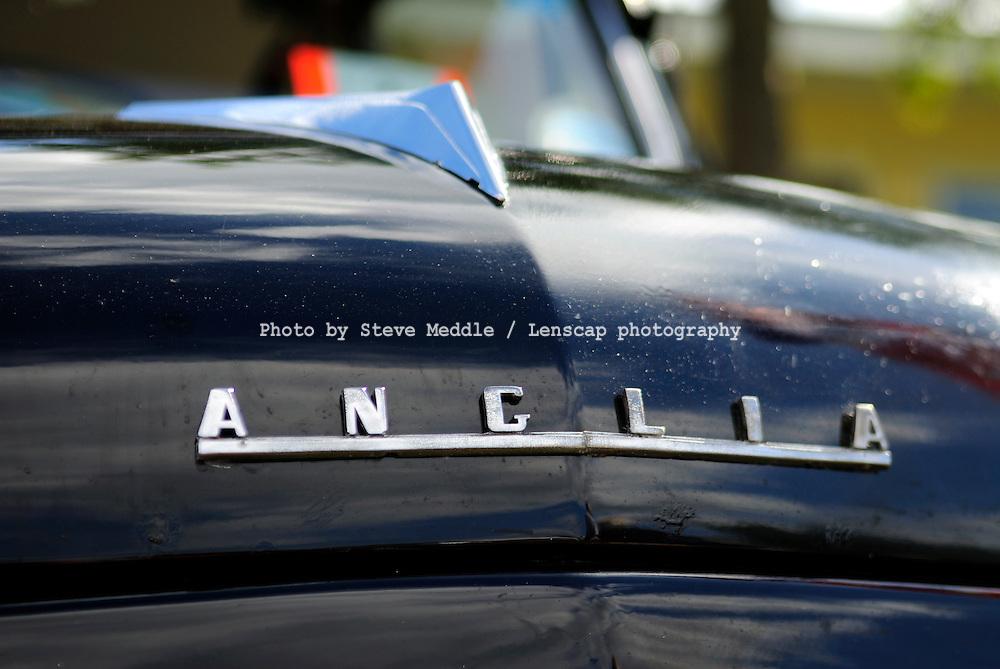 1958 Ford Anglia 101E 1953-1959, Badge Detail - 2010