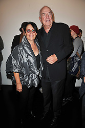 DON & MERA RUBELL at a private view of 'Engagement' an exhibition of new works by Jennifer Rubell held at the Stephen Friedman Gallery, 25-28 Old Burlington Street, London on 7th February 2011.