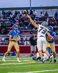 On September 18, 2021, the West County High School varsity football team played an away game against the Terra Linda.  The West County team won the game 34-0