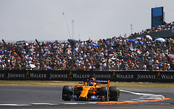 July 7, 2018 - Silverstone, Great Britain - Motorsports: FIA Formula One World Championship 2018, Grand Prix of Great Britain, .#14 Fernando Alonso (ESP, McLaren F1 Team) (Credit Image: © Hoch Zwei via ZUMA Wire)