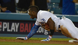 October 6, 2017 - Los Angeles, California, U.S. - in the xxx inning of a National League Divisional Series baseball game at Dodger Stadium on Friday, Oct. 06, 2017 in Los Angeles. Los Angeles Dodgers won 9-5. (Photo by Keith Birmingham, Pasadena Star-News/SCNG) (Credit Image: © San Gabriel Valley Tribune via ZUMA Wire)