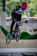 #690 (CHAPELLE Theo) FRA at Round 5 of the 2019 UCI BMX Supercross World Cup in Saint-Quentin-En-Yvelines, France