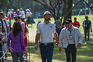 Dustin Johnson (USA) approaches the tee on 3 during Rd4 of the World Golf Championships, Mexico, Club De Golf Chapultepec, Mexico City, Mexico. 2/23/2020.<br /> Picture: Golffile | Ken Murray<br /> <br /> <br /> All photo usage must carry mandatory copyright credit (© Golffile | Ken Murray)