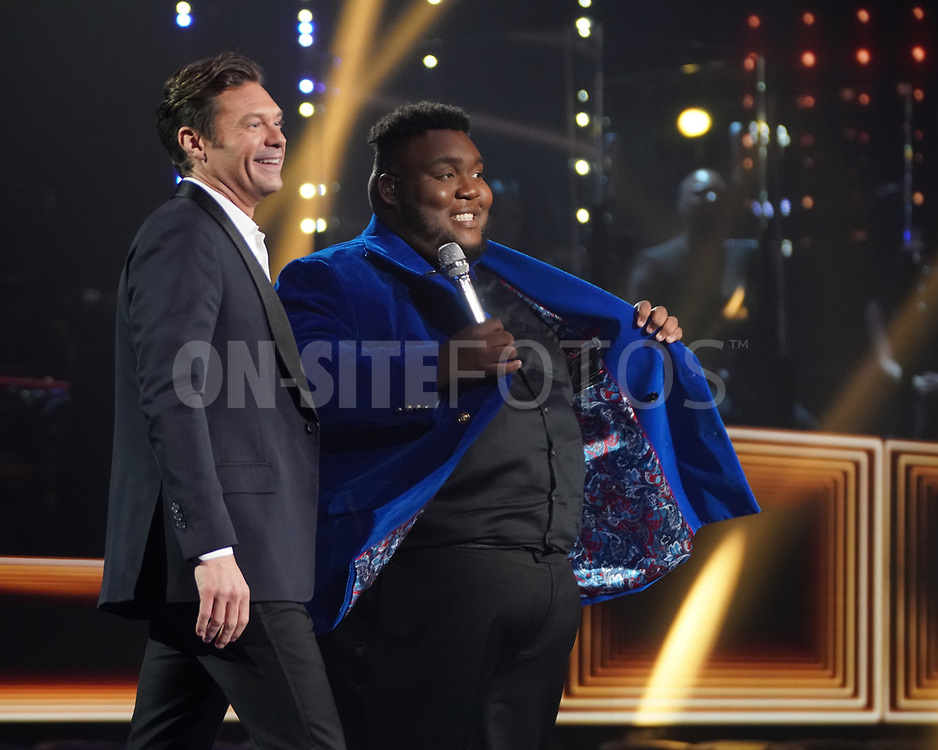 """AMERICAN IDOL – """"414 (Oscar Nominated Songs)"""" – The top 12 contestants perform Oscar®-nominated songs in hopes of securing America's vote into the top nine on an all-new episode of """"American Idol,"""" airing live coast-to-coast on SUNDAY, APRIL 18 (8:00-10:00 p.m. EDT), on ABC. (ABC/Eric McCandless)<br /> WILLIE SPENCE"""